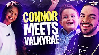 CONNOR MEETS VALKYRAE! HE ROASTED HER?! (Fortnite: Battle Royale)