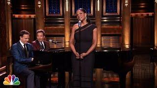 Audra McDonald Sings Yahoo! Answers