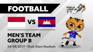 Video KL2017 29th SEA Games | Men's Football - INA 🇮🇩 vs CAM 🇰🇭 | 24/08/2017 MP3, 3GP, MP4, WEBM, AVI, FLV Juli 2018