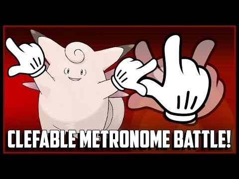 Clefable Metronome Battle W/ Dobbs!