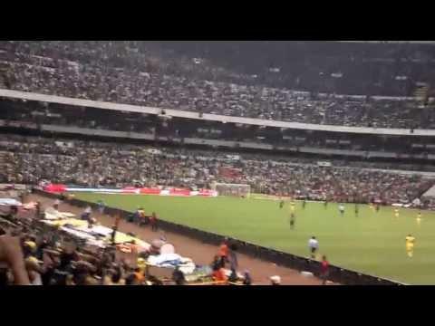 La monumental America vs Pumas 2013 Estadio Azteca - La Monumental - América