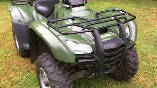 7. 2007 Honda rancher 420 4x4 review