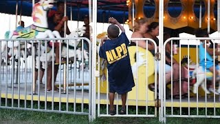 New London police and kids gather for National Night Out