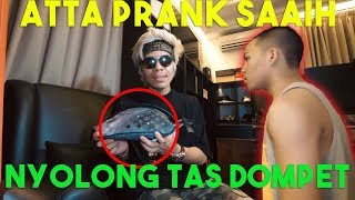 Video ATTA PRANK SAAIH! NYOLONG TAS SAMA DOMPET!! MP3, 3GP, MP4, WEBM, AVI, FLV Juli 2019