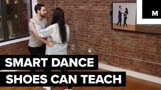 Rhythm Shoes can track steps via motion sensors and provide haptic feedback to help users learn choreography.READ MORE: http://mashable.com/FACEBOOK: https://www.facebook.com/mashable/TWITTER: https://twitter.com/mashableINSTAGRAM: https://www.instagram.com/mashable/