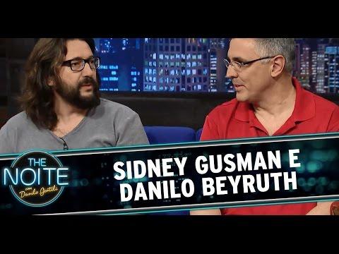 The Noite (26/12/14) - Entrevista com Sidney Gusman e Danilo Beyruth