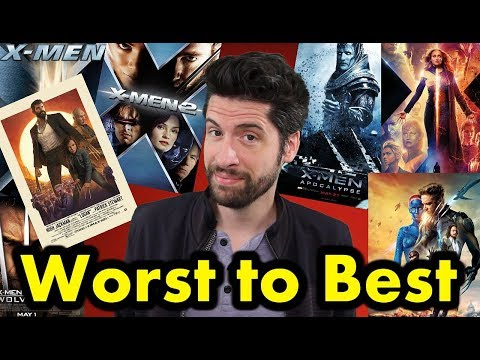 X-Men Movies: Ranked From WORST to BEST