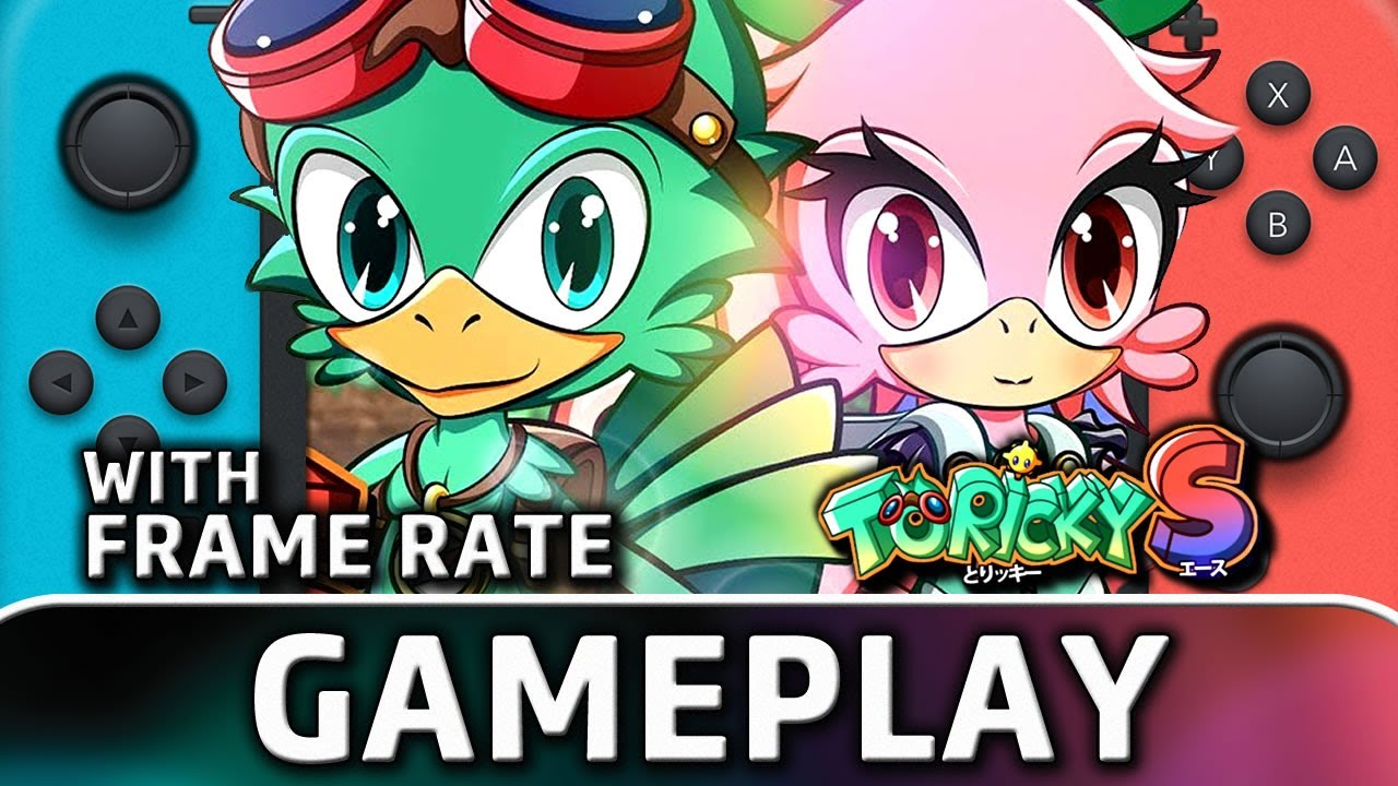 Toricky S | Nintendo Switch Gameplay and Frame Rate
