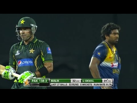 Power hitting - Kushal Janith plays two blistering shots v Australia, 2013