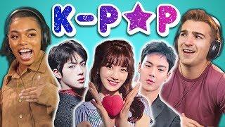 Video COLLEGE KIDS REACT TO K-POP (BTS, MONSTA X, SEVENTEEN, TWICE, Red Velvet) MP3, 3GP, MP4, WEBM, AVI, FLV Agustus 2018