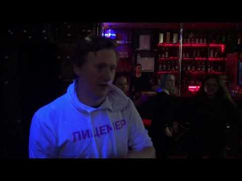 самый маленький концерт Дани Кашина в караоке-баре в СПб