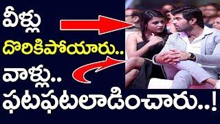 Video Arjun Reddy Fame Vijay Devarkonda Shalini Pandey Caught On Camera | Award Function |  Take One Media MP3, 3GP, MP4, WEBM, AVI, FLV April 2018