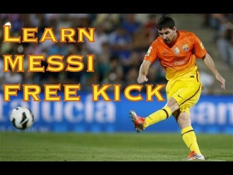 Learn the Proper Technique to Hit a Curve Ball Free Kick in Soccer