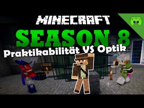 PRAKTIKABILITÄT VS OPTIK «» Minecraft Season 8 # 109 | Full HD