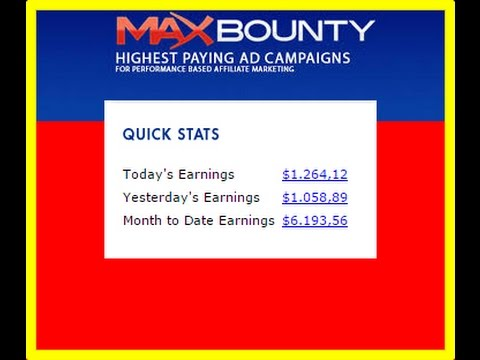 How To Promote CPA Offers, 1000$ PER DAY WITH MAXBOUNTY