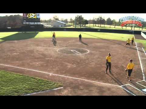 Softball Infielder's Drill – Around the Horn