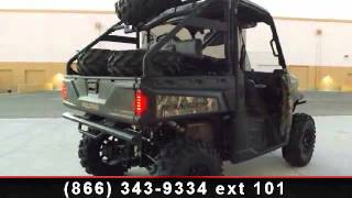 6. RideNow Peoria 2014 Polaris Ranger XP 900 EPS Browning Edition Signature S