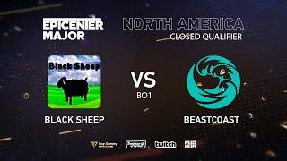 beastcoast vs Black Sheep, EPICENTER Major 2019 NA Closed Quals , bo1 [Maelstorm & Lost]
