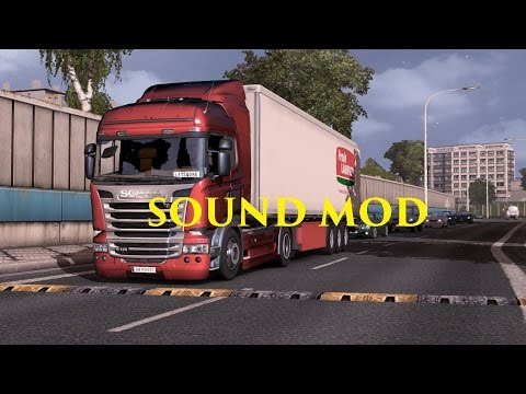 Scania V8 Sound Pack