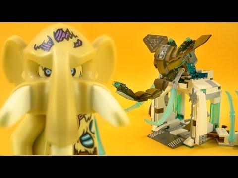 Vidéo LEGO Chima 70226 : La forteresse glacée du Mammouth