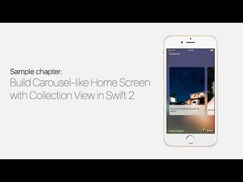UICollectionView With Swift: Build Carousel Like Home…