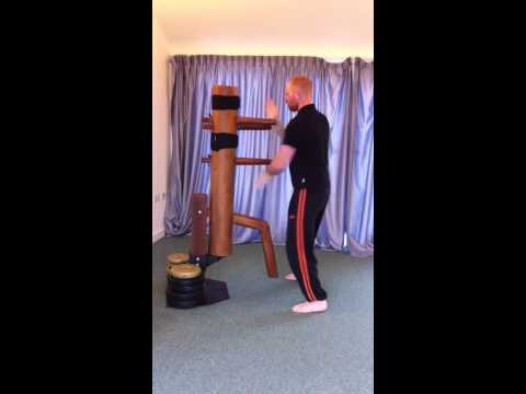 Ip Man Wing Chun wooden dummy complete form