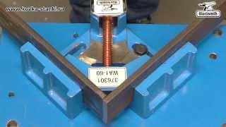 Струбцина-тиски 90° WA1-60 Blacksmith