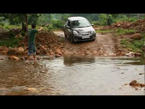 Off-roading with Honda Brio