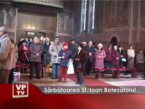 Sărbătoarea Sf. Ioan Botezătorul