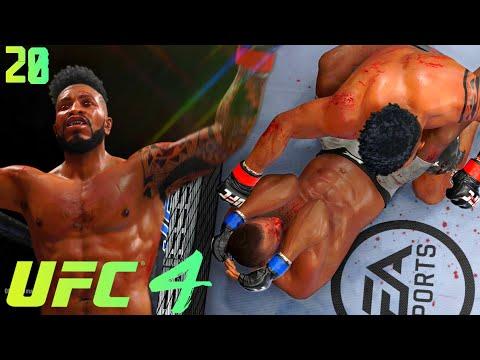 UFC 4 Career Mode EP 20: Flashy Head Kick Knockouts! 3 Round Wawr! UFC 4 Career Mode Gameplay