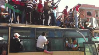 مسيرة مليونية من سوق الجمعة  Tripoli March 9-9-2011