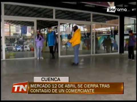 Mercado 12 de abril se cierra tras contagio de un comerciante