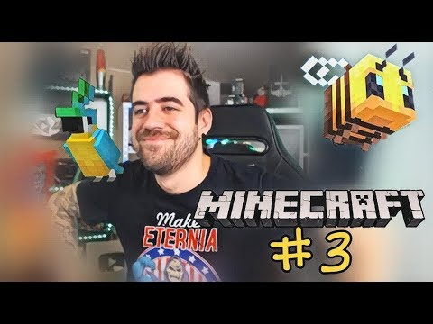 AuronPlay en Minecraft #3  TODO MAL
