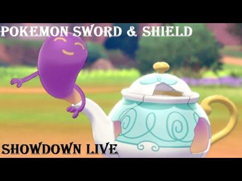 Pokémon Showdown Live: Sword & Shield #1 - Spilling the Polteageist