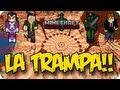 LA TRAMPA!! - Juegos del hambre c/ VEGETTA, LUZU Y WILLYREX - MINECRAFT