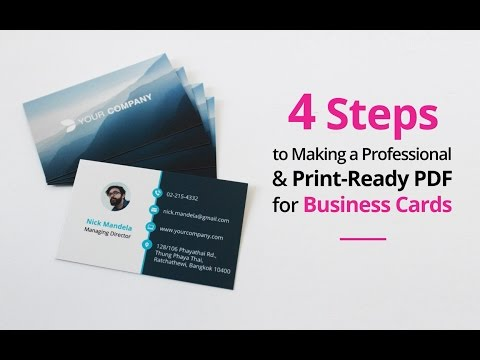 How To Set Up A Professional & Print-Ready PDF In 4 Easy Steps - Adobe Illustrator