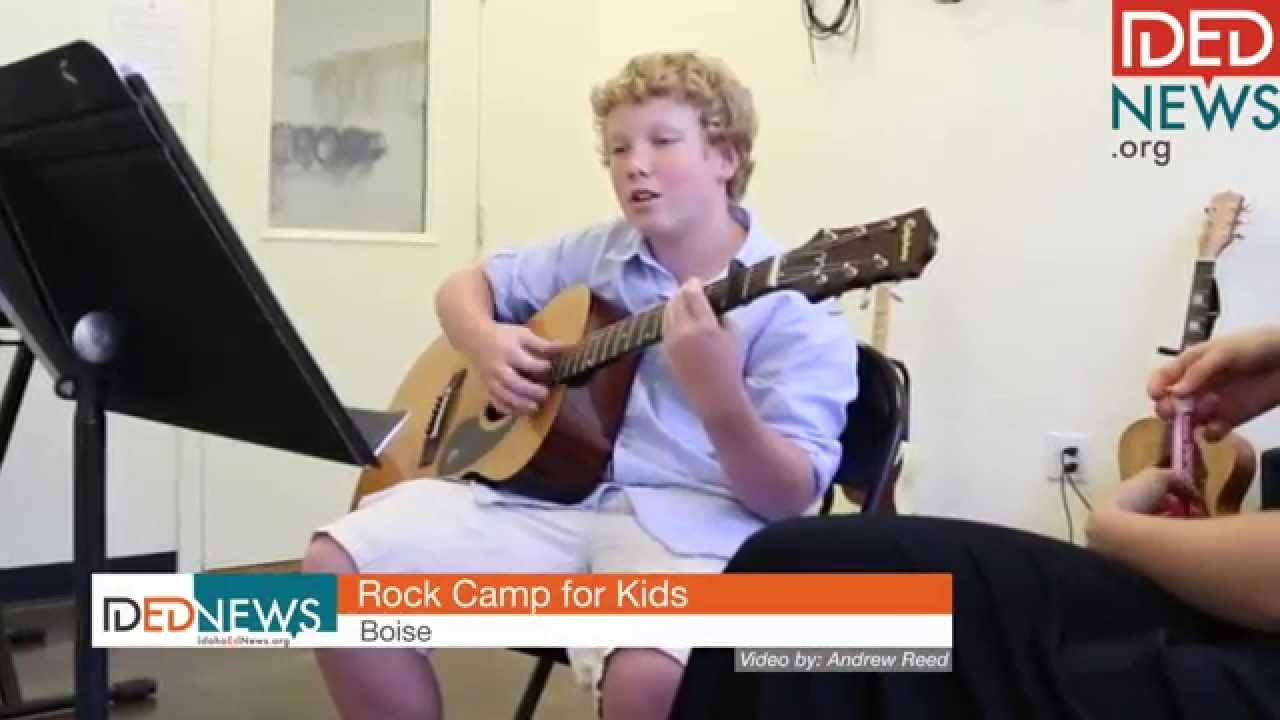 Kids rock out at Boise Rock School
