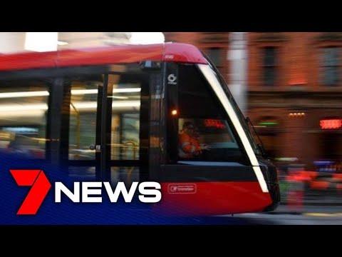 Sydney's new light rail passes its first peak hour test   7NEWS