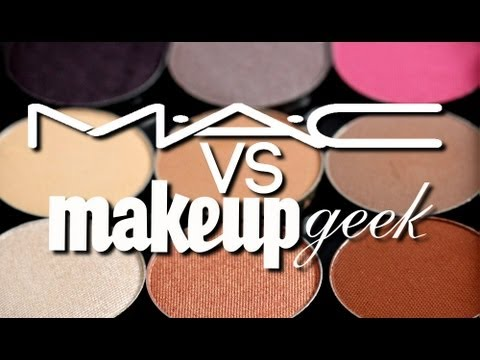 MakeupGeekTV - SWATCHES :: http://www.makeupgeek.com/articles/mug-mac-dupe-list/ All Makeup Geek Products are Cruelty Free and Ship Worldwide! :: MY MAKEUP LINE :: http:...