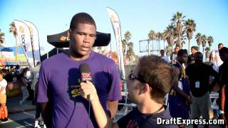 Cameron Ridley DraftExpress Interview - 2011 Boost Mobile Elite 24