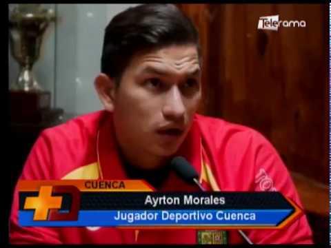 Deportivo Cuenca presentó 2 nuevas contrataciones