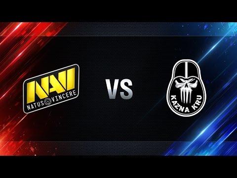 Natus Vincere против Kazna Kru - Битва Чемпионов в Москве WGL 2016/17