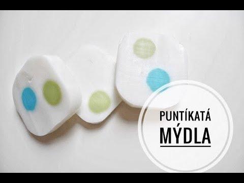 Puntíkaté mýdlo  výroba mýdla   diy spotted soap