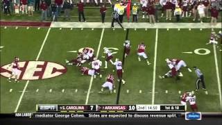 Dennis Johnson vs Ole Miss, S. Carolina, Miss. St (2011)
