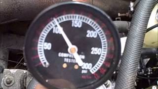 9. Yamaha V-Max 600 Engine Running and Compression test