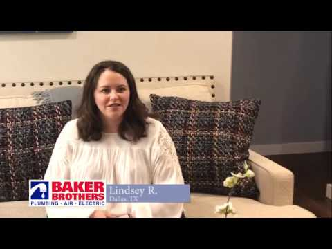 Baker Brothers Air Conditioning Review Lindsey R Dallas, Texas