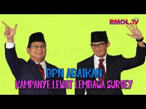 BPN Abaikan Kampanye Lewat Lembaga Survey
