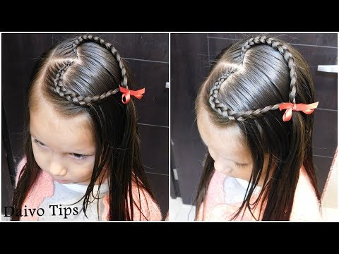 PEINADO: TRENZA DE CORAZÓN (TUTORIAL)| HOW TO: HEART HAIRSTYLE