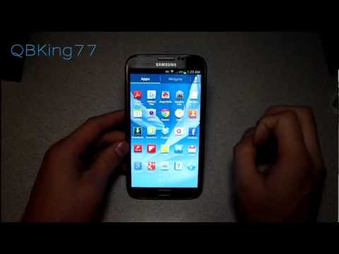 Free Wifi Tether/Hotspot on the Samsung Galaxy Note II
