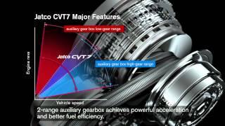 Transmisia cu variatie continua CVT7 de la Jatco